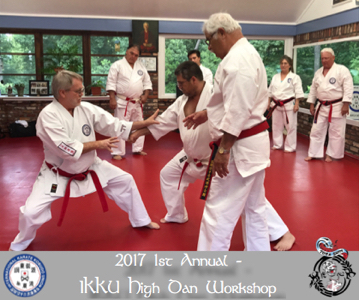 2017 1st Annual IKKU High Dan Seminar